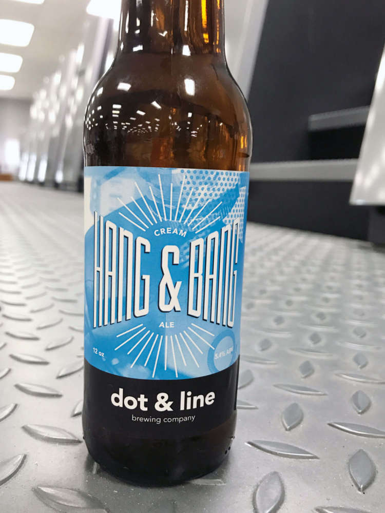 Hang & Bang Beer Label