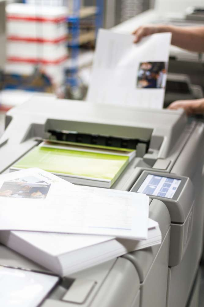 Our Digital Press Creates High Quality Print Jobs Without The High Cost